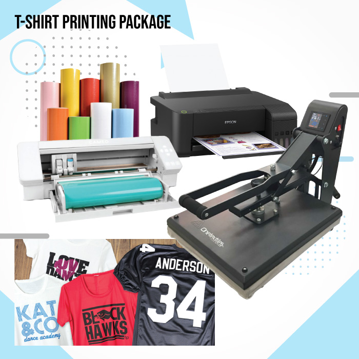 tshirt printing package